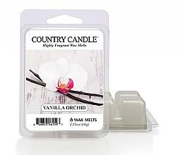 Düfte, Parfümerie und Kosmetik Duftwachs für Aromalampe Vanilla Orchid - Country Candle Vanilla Orchid Wax Melts
