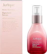 Düfte, Parfümerie und Kosmetik Revitalisierendes und verjüngendes Gesichtsserum - Jurlique Herbal Recovery Signature Serum