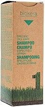 """Düfte, Parfümerie und Kosmetik """"Aktiv-Shampoo"""" für fettende Kopfhaut - Salerm Biokera Specific Oil Hair Shampoo"""