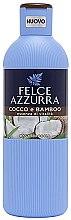 Düfte, Parfümerie und Kosmetik Duschgel mit Kokosnuss und Bambus - Felce Azzurra Coconut and Bamboo Body Wash