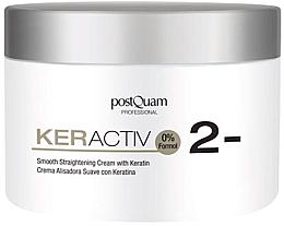 Düfte, Parfümerie und Kosmetik Glättende und regenerierende Haarcreme mit Keratin - PostQuam Keractiv Smooth Straightening Cream With Keratin
