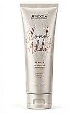 Düfte, Parfümerie und Kosmetik Shampoo für alle Haartypen - Indola Blond Addict Shampoo