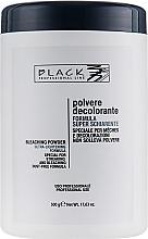 Düfte, Parfümerie und Kosmetik Aufhellungspulver blau - Black Professional Line Bleaching Powder Blue