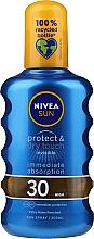 Erfrischendes Sonnenschutzspray SPF 30 - Nivea Sun Care Invisible Protection Spray — Bild N1