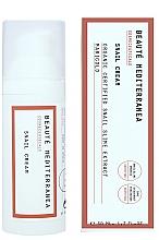 Düfte, Parfümerie und Kosmetik Anti-Aging Gesichtscreme mit Schneckenschleimextrakt und Ringelblume - Beaute Mediterranea Snail Cream
