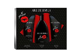 Düfte, Parfümerie und Kosmetik Instituto Espanol Aire de Sevilla Si Quiero - Duftset (Eau de Toilette 150ml + Duschgel 150ml + Körpercreme 150ml)