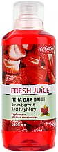 Düfte, Parfümerie und Kosmetik Badeschaum Erdbeere & rote Lorbeere - Fresh Juice Strawberry and Red Bayberry