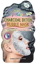 Düfte, Parfümerie und Kosmetik Reinigende Blasenmaske für das Gesicht mit Aktivkohle - 7th Heaven Charcoal Detox Bubble Mask