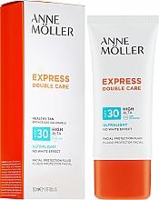 Düfte, Parfümerie und Kosmetik Sonnenschutzfluid für das Gesicht SPF 30 - Anne Moller Double Care Ultralight Facial Protection Fluid SPF30