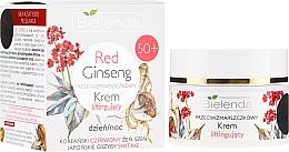 Düfte, Parfümerie und Kosmetik Anti-Falten Gesichtscreme mit Ginseng und Shiitake 50+ - Bielenda Red Ginseng Lifting Cream 50+