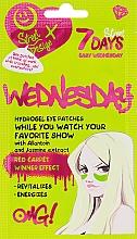 Düfte, Parfümerie und Kosmetik Hydrogel-Augenpatches mit Allantoin und Jasmin-Extrakt - 7 Days Hydrogel Eye Patches