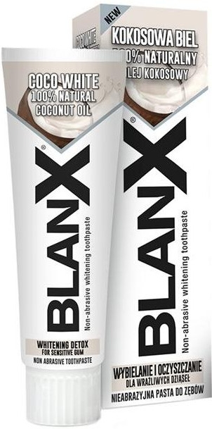 Aufhellende Zahnpasta mit Kokosnussöl - Blanx Coco White Toothpaste