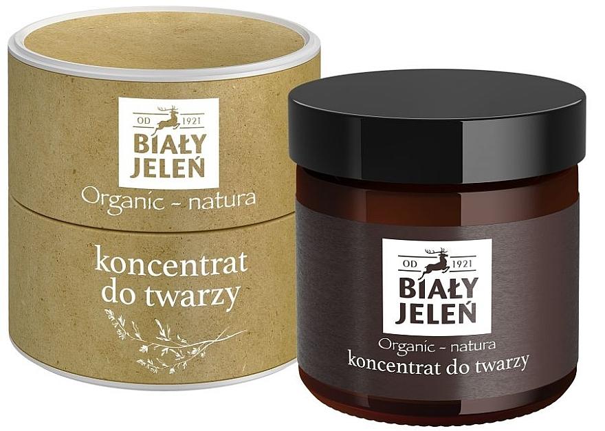 Anti-Aging Gesichtskonzentrat für Männer - Bialy Jelen Organic-Nature