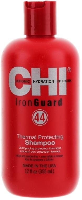 Nährendes Shampoo mit Wärmeschutz und Vitaminen - CHI 44 Iron Guard Shampoo