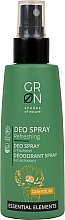 Düfte, Parfümerie und Kosmetik Deospray mit Calendula - GRN Deo Spray Calendula