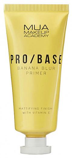 Mattierender Gesichtsprimer mit Bananenduft - Mua Pro/ Base Banana Blur Primer
