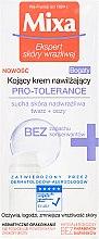 Düfte, Parfümerie und Kosmetik Feuchtigkeitsspendende und beruhigende Gesichts- und Augencreme - Mixa Pro-Tolerance Cream