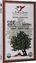 """Düfte, Parfümerie und Kosmetik Natürliches Pulver für Haare """"Christusdorn"""" - Le Erbe di Janas Sidr (Ziziphus)"""