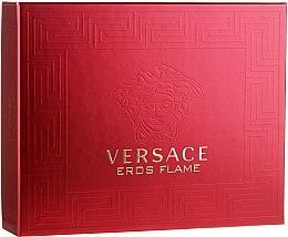 Düfte, Parfümerie und Kosmetik Versace Eros Flame - Duftset (Eau de Toilette/50ml + Duschgel/50ml + After Shave Balsam/50ml)