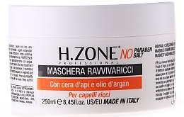 Düfte, Parfümerie und Kosmetik Haarmaske für lockiges und gewelltes Haar - H.Zone Revival Curls Mask