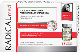 Düfte, Parfümerie und Kosmetik Behandlung gegen Haarausfall für Frauen in Ampullenform - Radical Med Anti Hair Loss Ampoule Treatment For Woman