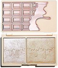 Düfte, Parfümerie und Kosmetik Highlighterpalette - I Heart Revolution Chocolate Rose Gold Glow