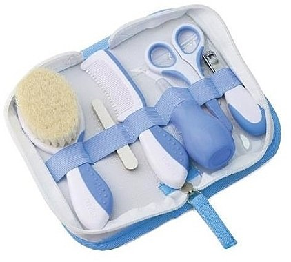 Baby-Pflegeset weiß-blau - Nuvita