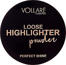 Düfte, Parfümerie und Kosmetik Vollare Loose Highlighter Powder Perfect Shine - Loser Highlighter (Tester)