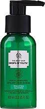 Düfte, Parfümerie und Kosmetik Flüssiges Gesichtspeeling mit Edelweiß-, Stranddistel- und Meerfenchel-Stammzellen - The Body Shop Drops of Youth