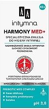 Düfte, Parfümerie und Kosmetik Spezielle Emulsion für die Intimhygiene gegen Reizungen und für überempfindliche Haut - AA Harmony Med+