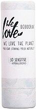 Düfte, Parfümerie und Kosmetik Deostick für empfindliche Haut - We Love The Planet So Sensitive Deodorant Stick