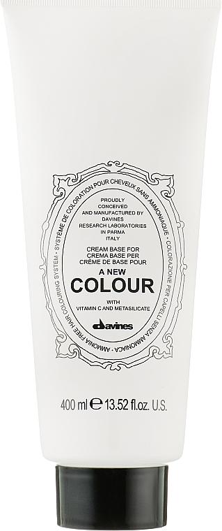 Cremiger Gesichtsprimer - Davines A New Colour Cream Base — Bild N1