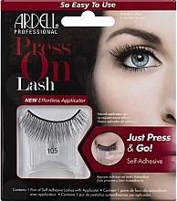 Düfte, Parfümerie und Kosmetik Künstliche Wimpern - Ardell Press On Lash 105 Black