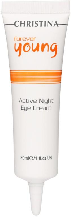 Aktive Nachtcreme für die Augenpartie - Christina Forever Young Active Night Eye Cream — Bild N1