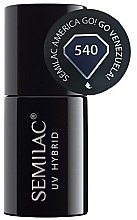 Düfte, Parfümerie und Kosmetik Nagellack - Semilac UV Hybrid America Go!