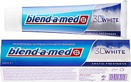 Düfte, Parfümerie und Kosmetik Zahnpasta Arctic Freshness - Blend-a-med 3D White Arctic Freshness