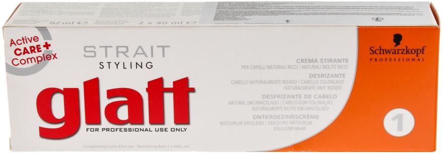 Schwarzkopf Professional Strait Styling Glatt Kit 1 - Set für dauerhafte Haarglättung  — Bild N5