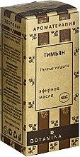 Düfte, Parfümerie und Kosmetik Ätherisches Öl Thymian - Botanika 100% Thymus Vulgaris Essential Oil