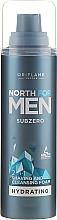 Düfte, Parfümerie und Kosmetik 2in1 Reinigungs- und Rasierschaum für das Gesicht - Oriflame Subzero North For Men Shaving Foam