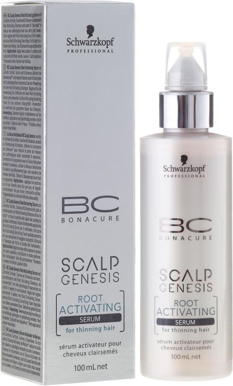 Serum zum Haarwachstum für dünner werdendes Haar - Schwarzkopf Professional BC Bonacure Scalp Genesis Root Activating Serum