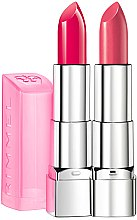 Düfte, Parfümerie und Kosmetik Lippenstift - Rimmel Moisture Renew Sheer&Shine Lipsticks