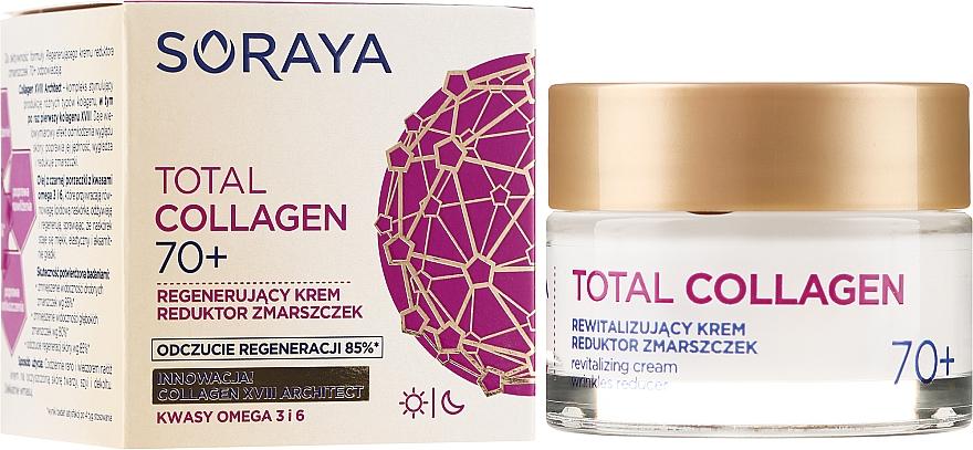 Regenerierende Anti-Falten Tages- und Nachtcreme 70+ - Soraya Total Collagen 70+