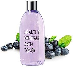 Düfte, Parfümerie und Kosmetik Porenverengendes und straffendes Gesichtsreinigungstonikum mit Heidelbeerextrakt - Real Skin Healthy Vinegar Skin Toner Blueberry