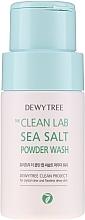 Düfte, Parfümerie und Kosmetik Waschpuder mit Meersalz - Dewytree The Clean Lab Sea Salt Powder Wash