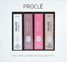 Düfte, Parfümerie und Kosmetik Lippenbalsam-Set für mehr Volumen - Procle Volume Lip Balm (Lippenbalsam/4x3,5g)
