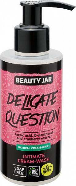 Intimwaschgel mit Milchsäure und Moosbeeren - Beauty Jar Delicate Question Intimate Cream-Wash