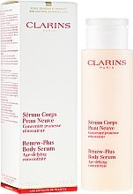 Düfte, Parfümerie und Kosmetik Regenerierendes Körperserum - Clarins Renew-Plus Body Serum