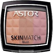 Düfte, Parfümerie und Kosmetik Gesichtsrouge - Astor Skin Match Trio Blush