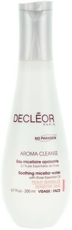 Reinigendes Mizellenwasser für Gesicht und Augenlider - Decleor Aroma Cleanse Soothing Micellar Water