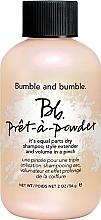 Düfte, Parfümerie und Kosmetik 2in1 Trockenshampoo-Puder für normales bis fettiges Haar - Bumble and Bumble Pret-A-Powder Dry Shampoo